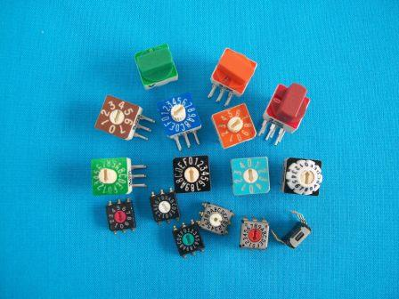 3500 Series Micro Dip Printed Circuit Board Switch