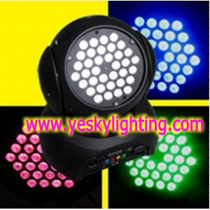 36 4w Tri In 1 Led Moving Head Wash 140w Yk 121