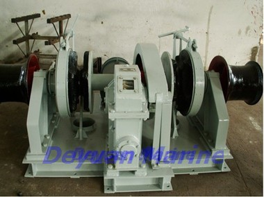 38kn Electric Anchor Windlass Supporting Classification Korea