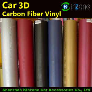 3d Carbon Fiber Vinyl Film With Air Bubbles Free For Car Stickers