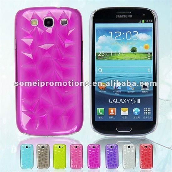 3d Diamond Phone Case Use For Samsung I9300