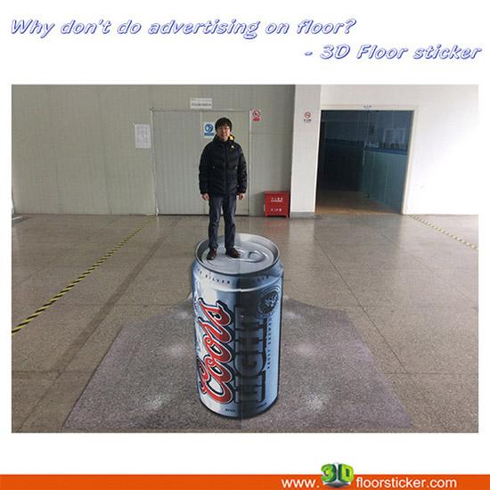 3d Floor Advertising Project