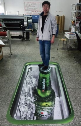 3d Floor Sticker Advertising