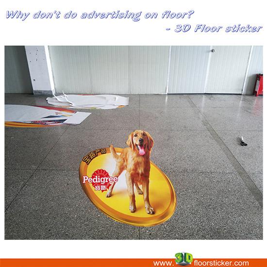 3d Floor Sticker For Supermarket Advertising Business
