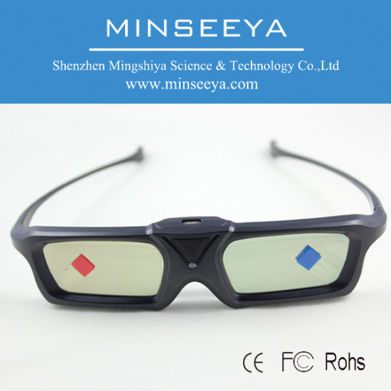 3d Glasses Active Shutter Universal Type