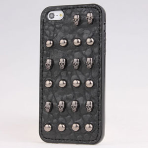 3d Punk Spike Rivet Studs Case Cover For Iphone4 4s