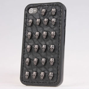 3d Punk Spike Rivet Studs Case Cover For Iphone5 5s