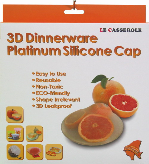 3d Silicone Cap For Dinnerware And Tableware