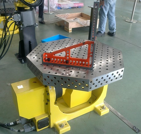 3d Welding Table Octagonal