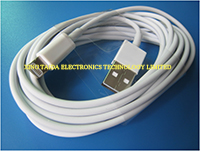 3m Lightning To Usb Cable For Iphone 5 Ipad Mini Flexible With Pvc Cover White