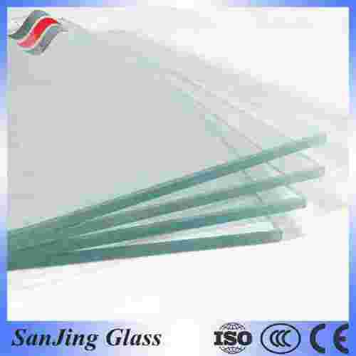 3mm 19mm Flat Bent Tempered Glass With 3c Ce Iso Certificate