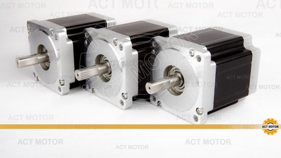 3pcs Act Nema34 Stepper Motor 34hs9456