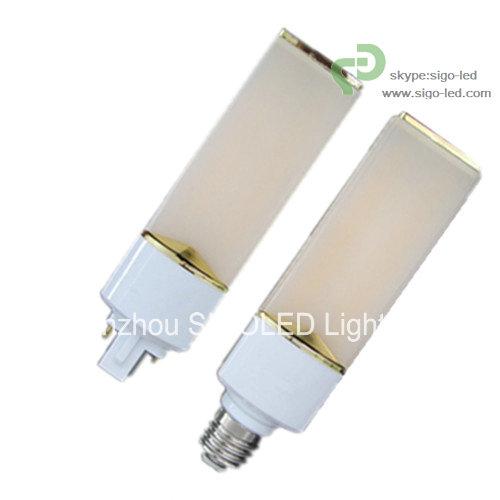 3w 5w 8w Led Plug Light Horizontal Down E26 E27 G23 G24 Base Silver Groggery 125kg