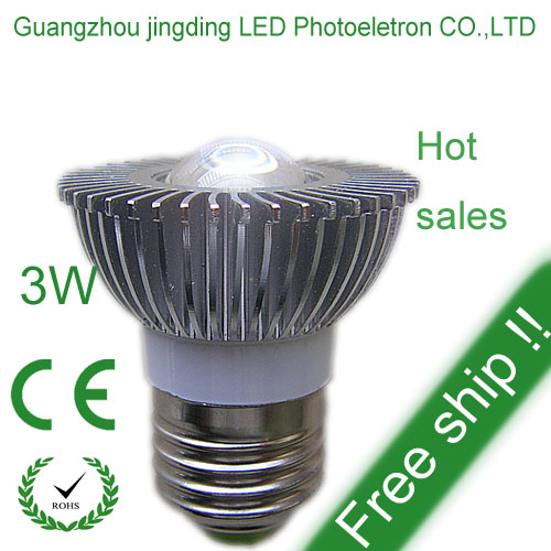 3w E27 Gu10 Led Spotlight Ce Rohs Proved