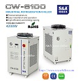 4 2kw Industrial Water Cooling Chiller Cw 6100 220v