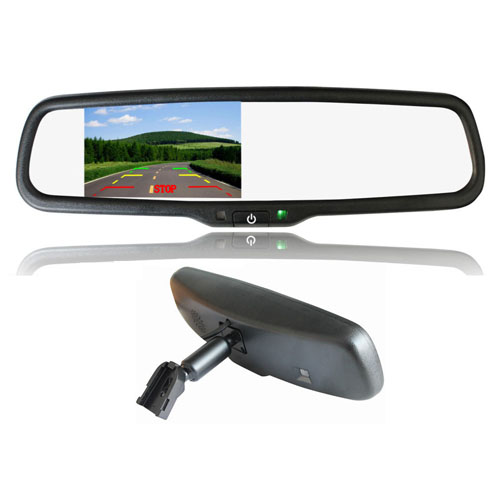 4 3 Inch Car Rearview Mirror Monitor High Brightness For Toyota