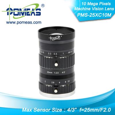 4 3inch 10mp Fl25mm Machine Vision Lens