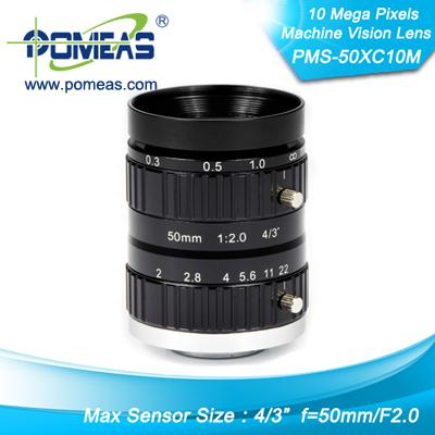 4 3inch 10mp Fl50mm Machine Vision Lens