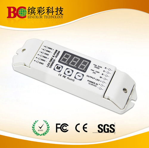 4 Channels Rgbw Led Dmx512 To Pwm Power Decoder