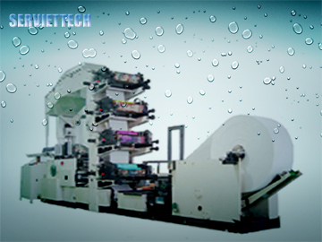 4 Color Napkin Paper Machine