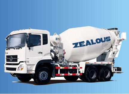 4 Cubic Meters Concrete Mixer Truck