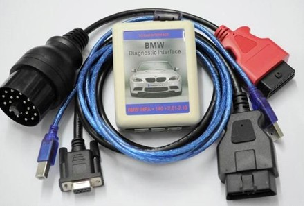 4 In 1 Bmw Diagnostic Interface Obd Inpa K Can Dash Scanner 2 0