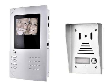 4 Inch B W Video Door Phone