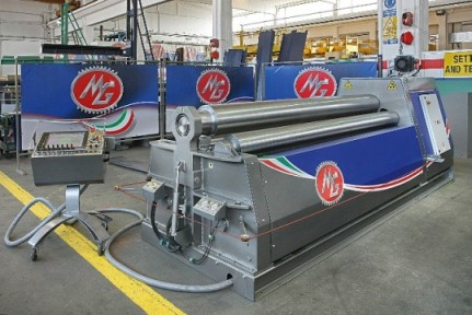 4 Rolls Plate Bending Machine Mh314c