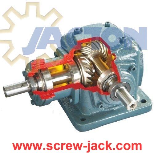 4 Way Bevel Gearbox 3 Gear Ratio Spiral 1
