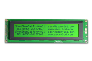 40 Charactersx 4 Lines Lcd Display Module Cm404 1