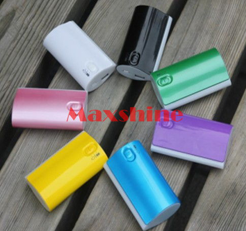 4000mah Power Bank With 4 Led Light Mobile Iphone Laptop Battery Backup Case