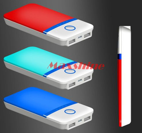 4000mah Power Bank With Various Colors Available Dual Output Laptop Mobile Battery Backup Case Porta