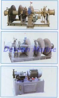 40kn Hydraulic Anchor Windlass And Mooring Winch 8805 Classification 150mm