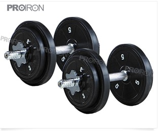 40lb Eco Dumbbell Set