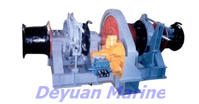 42kn Hydraulic Anchor Windlass Deyuan Authorized Certificated