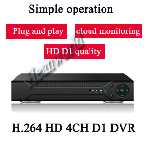 4ch Dvr Digital Video Recorder