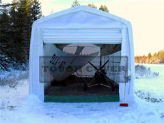 4m Wide Storage Shelter For Boat Yacht Vehicles Economical Cost And Versatility