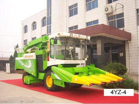 4yseries Corn Combine Harvester