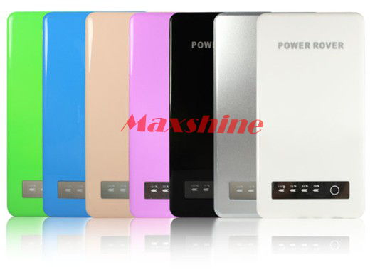 5000mah Power Bank With 8 6mm Ultra Thin Body Top Grade Aluminium Alloy Back Shell Touch Screen Cont