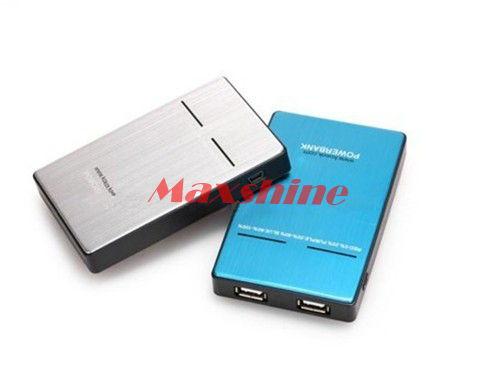 5000mah Power Bank With Led Torch Laptop Mobile Battery Backup Case Solar Charger Portable