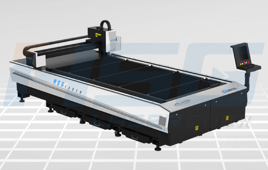 500w Large Format Metal Laser Cutting Machine Has High Property Hs M3015c