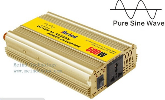 500w Power Inverter Pure Sine Wave Ac Converter Car Inverters Supply Charger