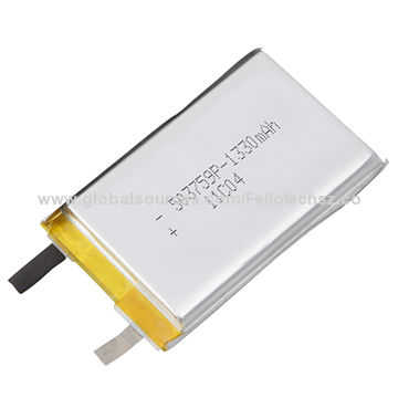 503759p 3 7v Rechargeable Lithium Polymer Battery For Digital Products Rc Toys With 1 330mah