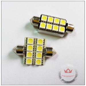 5050 8smd Canbus Led C5w Festoon With Heat Sink