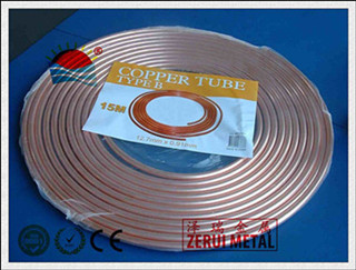 50ft Long Copper Pancake Coil