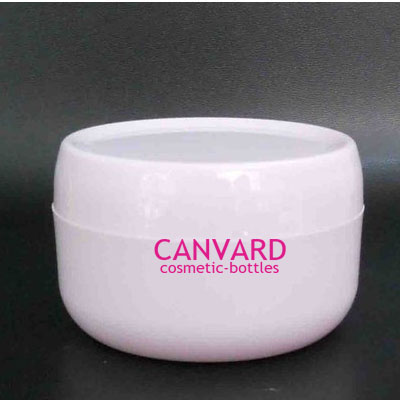 50g 100g 200g White Empty Plastic Jar Pp Cosmetic Lotion Cream Jars