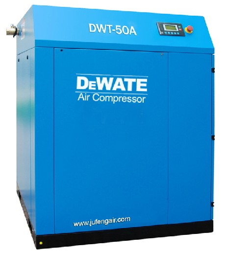 50hp 8bar Dewate Atlas Copco Screw Air Compressor Iso And Ce Certificate