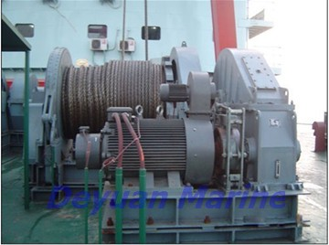 50kn Electric Anchor Windlass And Mooring Winch
