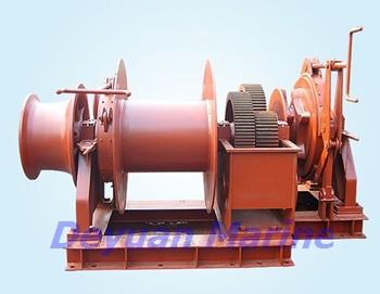 50kn Hydraulic Anchor Windlass And Mooring Winch Korea Chain China