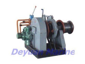 50kn Hydraulic Anchor Windlass And Mooring Winch
